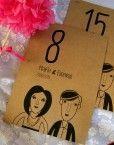 mesero-boda-caricatura-dibujo-pareja-novios-personalizado-numero-mesa-banquete-hipster-informal-moderna-original