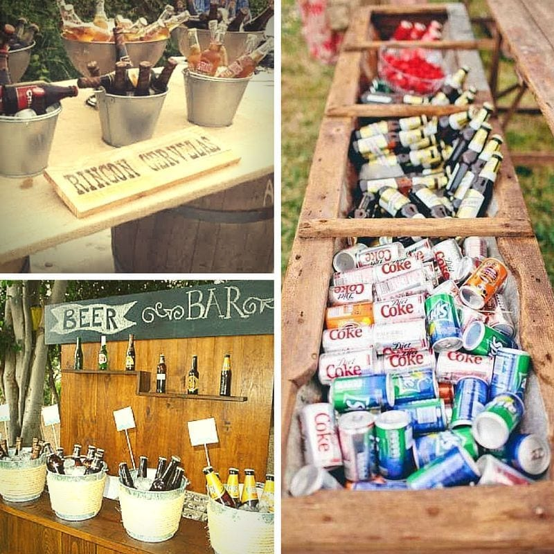Rincon Decorativo para Boda de cervezas