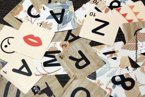 Letras de scrabble para decorar bodas, eventos y formar palabras y nombres para regalar
